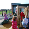Climbing Frame Tower with Slide  small
