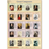 A1 Great Music Composers Poster  small