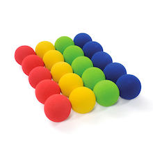 Low Bounce Foam Balls 20pk  medium