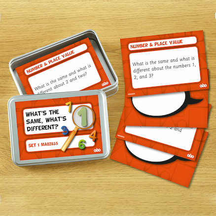 What\'s The Same, What\'s Different? Activity Cards  large