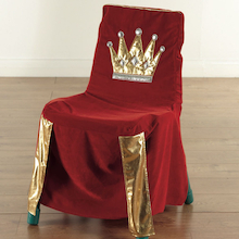 Sparkly Throne Chair Cover  medium