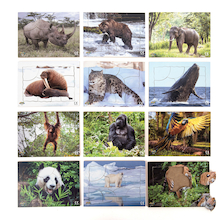 Endangered Animals Jigsaws Buy all and Save  medium