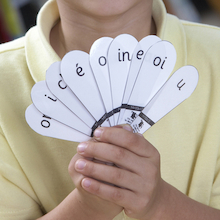 French Phonics Fans 6pk  medium