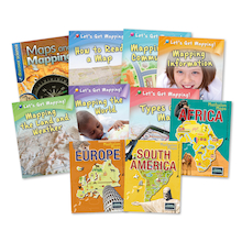 Mapping Skills Books 10pk  medium
