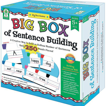 Big Box of Sentence Building  large