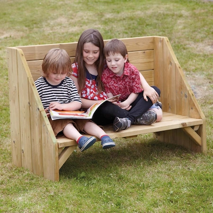 Outdoor Reading Corner Bench  large