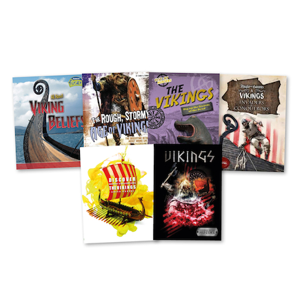 The Vikings Books 6pk  large