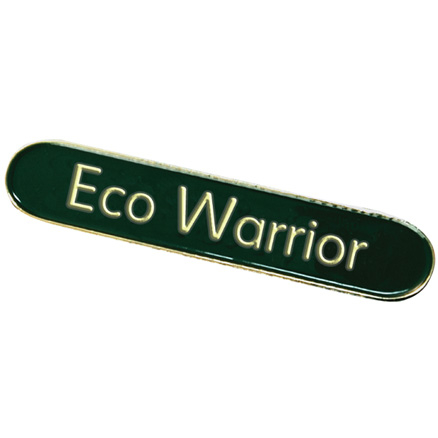 Eco Warrior Enamel Badges  large