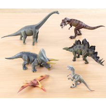 Small World Dinosaur Collection 6pcs  medium