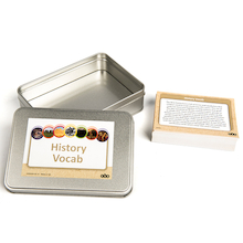 History Vocabulary Cards 70pk  medium