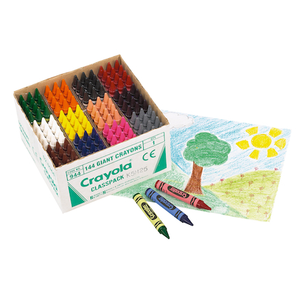Crayola My First Crayons Wax Crayons 144pk  large