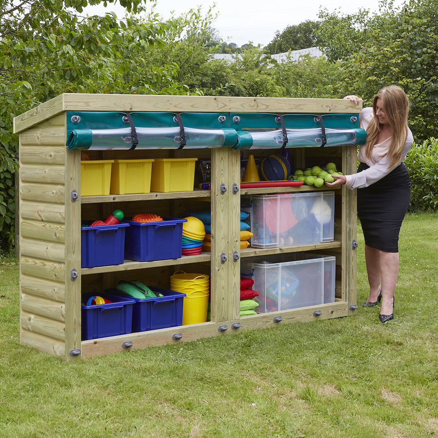 ... Outdoor Wooden Storage Units Small ...
