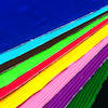 Coloured Corrugated Card 405 x 300mm 12pk  small