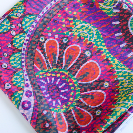 Creative Patterned Fabric Canopies  large
