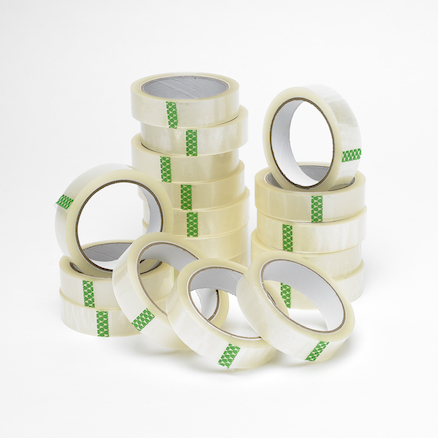 Clear Adhesive Tape Roll 25mm x 66m  large