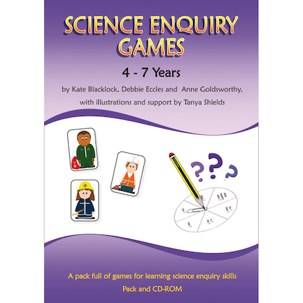 Science Enquiry Games Book and CD Rom KS1  large