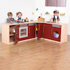 Premier Role Play Wooden Kitchen Range Multibuy  small