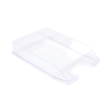 Clear Letter Tray  medium