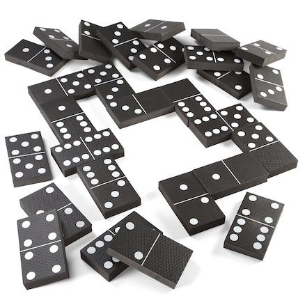 Jumbo Foam Playground Dominoes  large