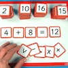 Magnetic Number Tiles 130pk  small
