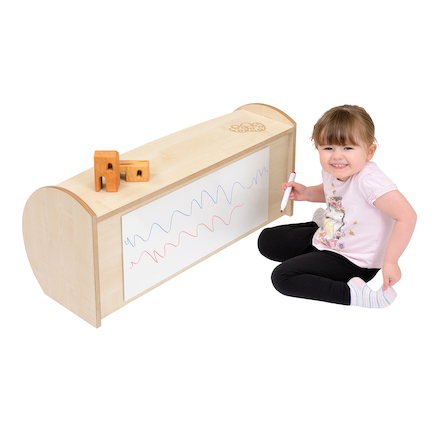 Toddler Mini Open Shelf Unit  large