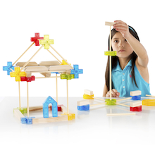 Texo Construction Set 100pcs  medium
