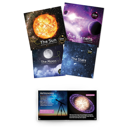 The Solar System Book Pack  large