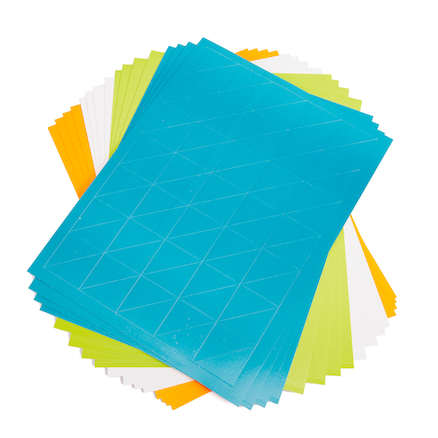 Self Adhesive Card Triangles  large