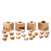 Wooden Baby Posting Pots 4pk  small