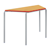 Crush Bent PU Edge Trapezoid Tables  small