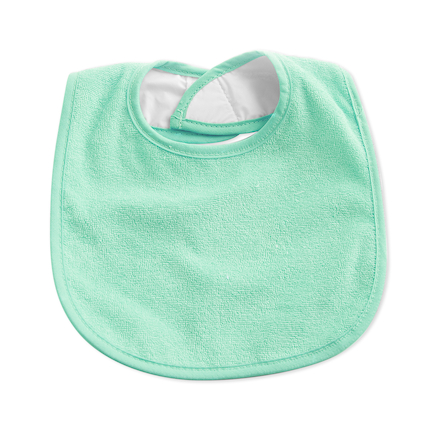 Towelling Bibs pk10 Mint  large