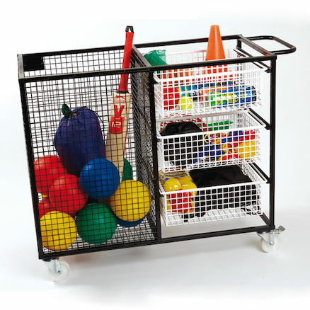 PE Multi Resource Storage Trolley  large