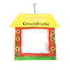 Miniature Transparent Window Greenhouses 20pk  small