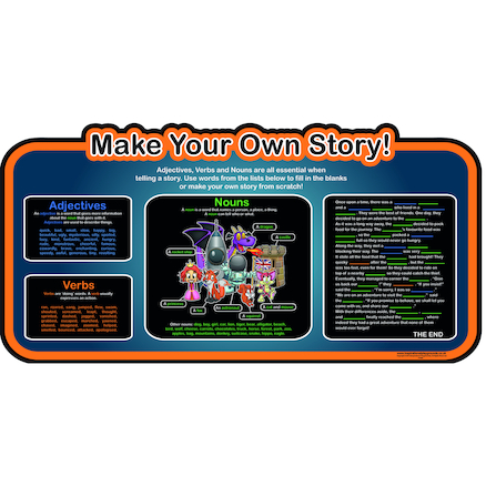 Make Your Own Story Outdoor Board 650 x 650mm  large