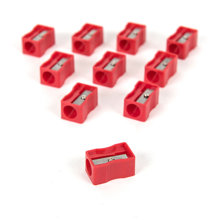 TTS Chunky Pencil Sharpener 10pk  large