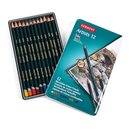 Derwent Artists Colouring Pencils Assorted  large