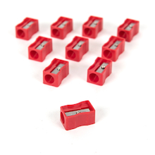 TTS Jumbo Pencil Sharpeners 10pk  medium