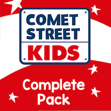 Reading Planet Comet Street Kids Complete Pack  medium