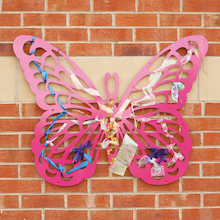 Wonderful Weaving Frames Butterfly  medium