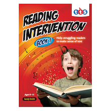 Reading Intervention Activity Books  medium