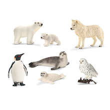 Schleich Arctic and Antarctic Animals 7pcs  medium