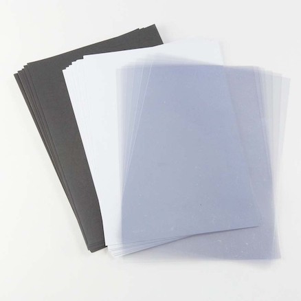 A4 Binding Covers White 240gsm 100pk  large