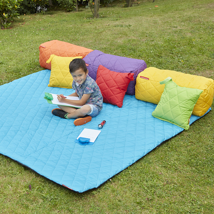 Large Outdoor Yellow Mat 200 x 200cm  large