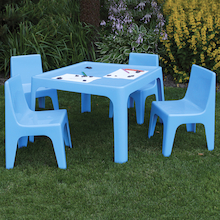Polypropylene Table and Chairs Set  medium