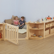 Rugeley Early Years Natural Wooden Furniture Set  medium
