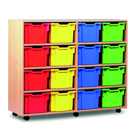 Jumbo and Extra Deep Tray Storage Unit Offer  large