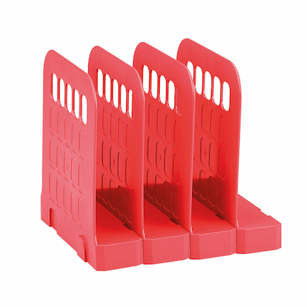 Avery Basics Organised Desktop Range Red  large