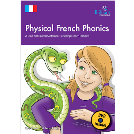 Physical French Phonics Book and DVD  large