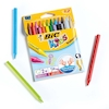 BIC Plastic Crayons Assorted 12pk  small