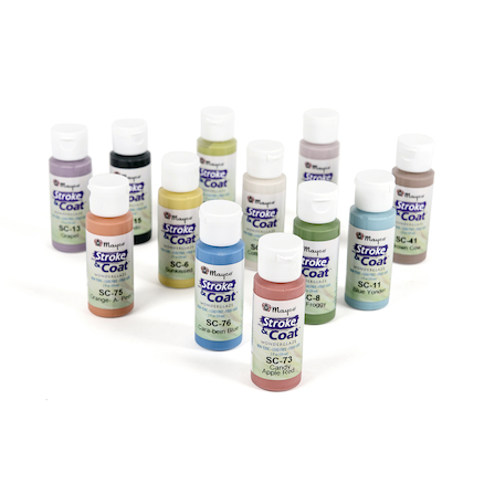 Stroke \x26 Coat Pottery Glazes 12pk  large